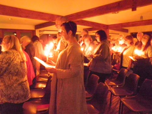 The Easter Vigil is a very special time for us,